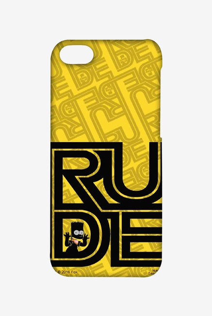 Simpsons Rude Case for iPhone 5C