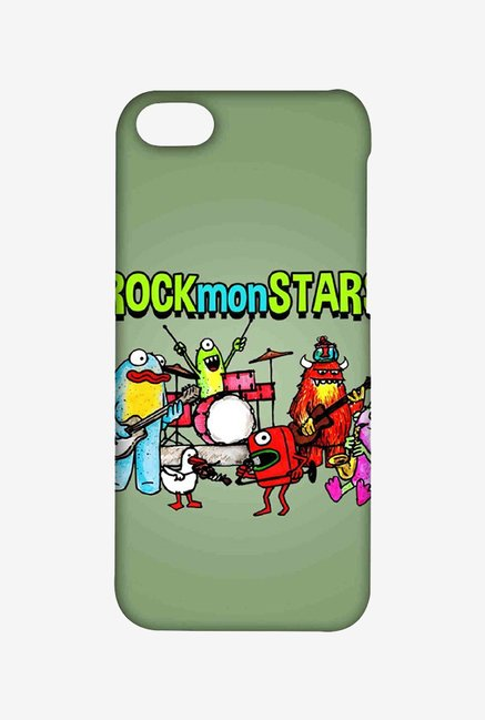 Kritzels Rockmonstars Case for iPhone 5C