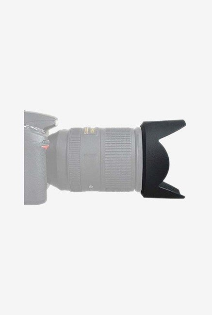 Fotasy HB58 Lens Hood And Cleaning Cloth (Black)