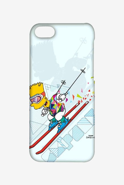 Simpsons Ski Punk Case for iPhone 4/4s
