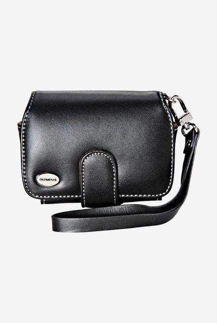 Olympus Slim Leather Case For Digital Cameras (Black) Image