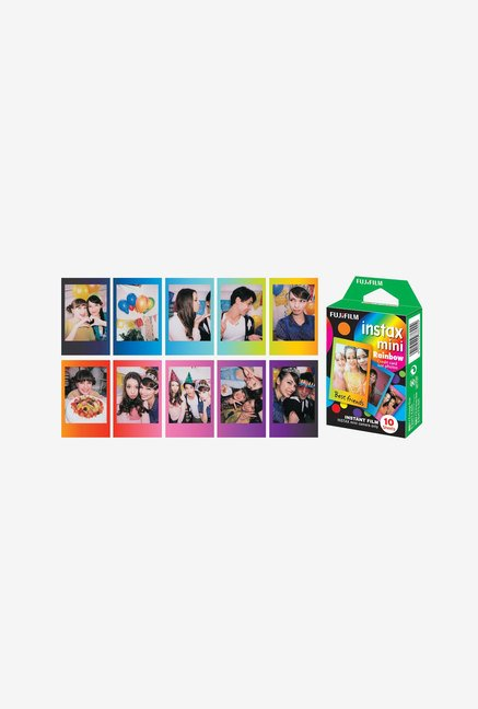 Fujifilm 10 Photos/Pack Instax Mini Rainbow Instant Film