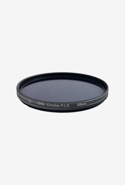 Marumi 58mm DHG Circular Polarizer Filter (Black)