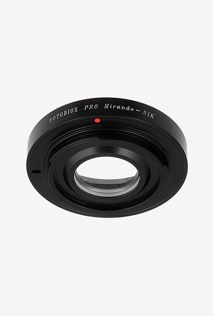 Fotodiox Pro Miranda Lens Adapter for Nikon F-Mount Camera