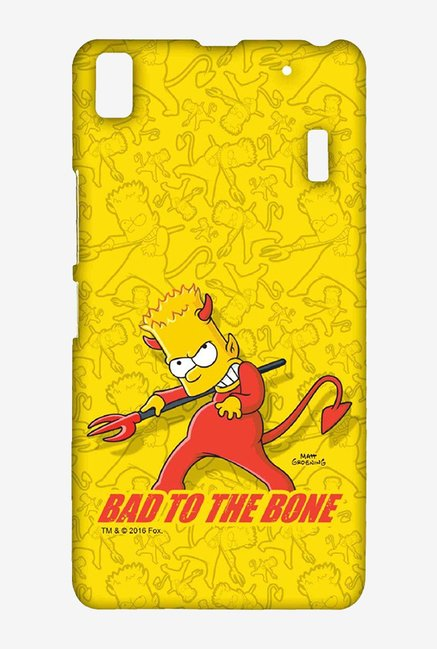 Simpsons Bad To The Bone Case for Lenovo A7000