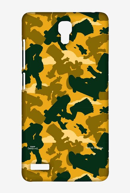 Simpsons Camo Bart Case for Xiaomi Redmi Note Prime