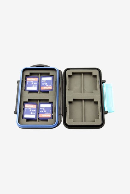 JJC MC-2 Memory Card Case for 4 x CF & 8 x SD Cards
