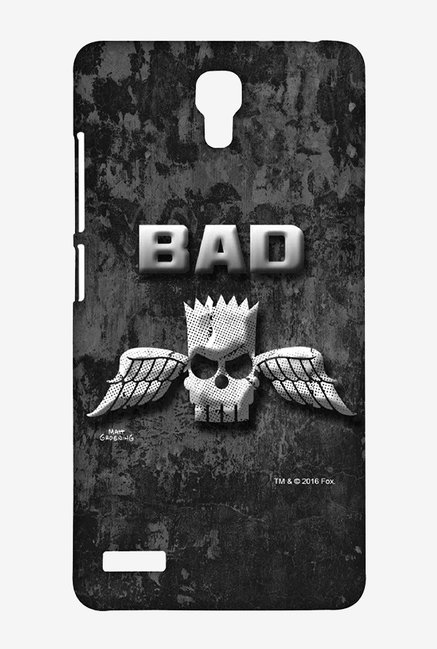 Simpsons Cracked Wall Bart Case for Xiaomi Redmi Note 4G