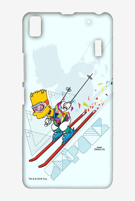 Simpsons Ski Punk Case for Lenovo A7000