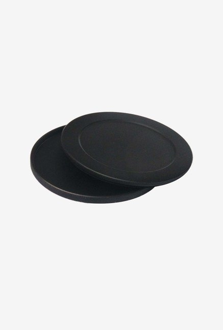 Fotasy 72 Mm Camera Filter Stack Caps (Black)