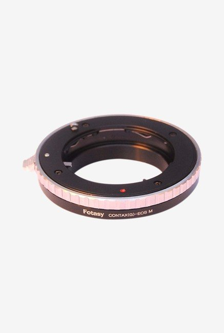 Fotasy AEMCG Contax G Lens Mount Camera Adapter (Black)