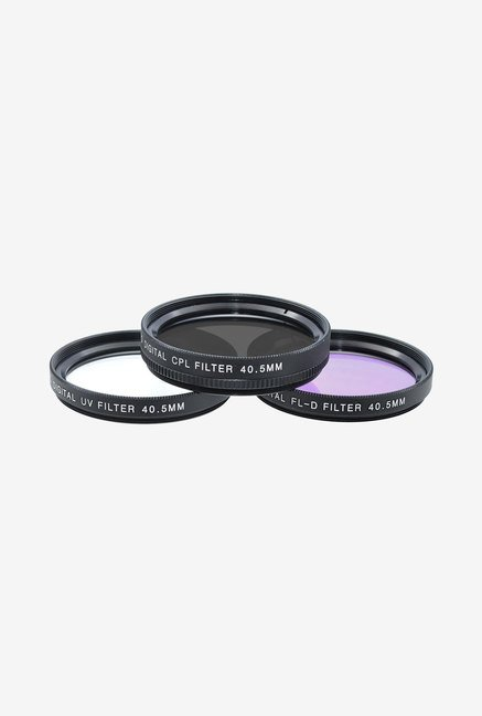 Xit Group 40.5 mm 3 Piece Camera Lens Filter Set (Black)