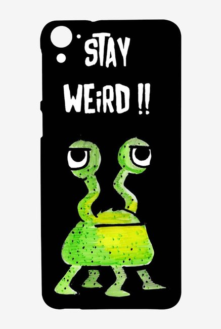 Kritzels Stay Weird Black Case for HTC Desire 826