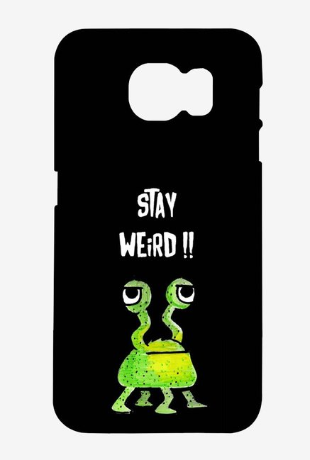 Kritzels Stay Weird Black Case for Samsung S6 Edge Plus