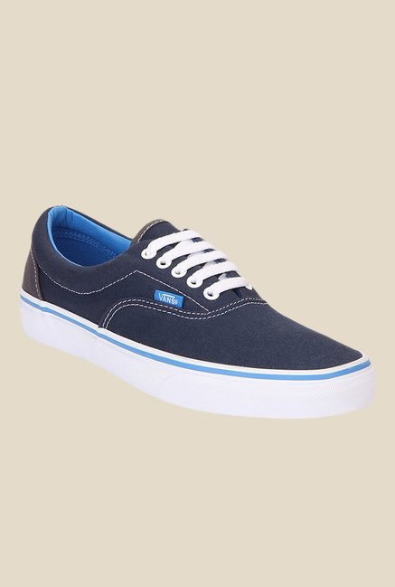 374df48b40 Buy Vans Era Navy Sneakers For Men Online At Tata CLiQ