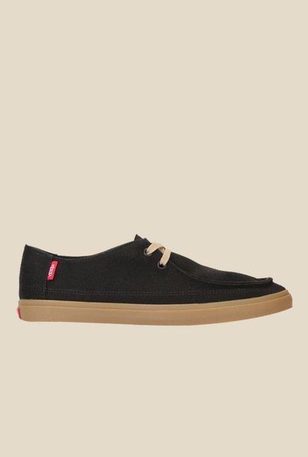7f46886420 Buy Vans Rata Vulc SF Black Sneakers For Men Online At Tata CLiQ