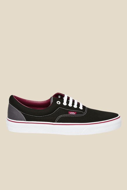 Vans Era Black & White Sneakers