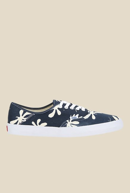 Vans Authentic SF Navy & Beige Sneakers