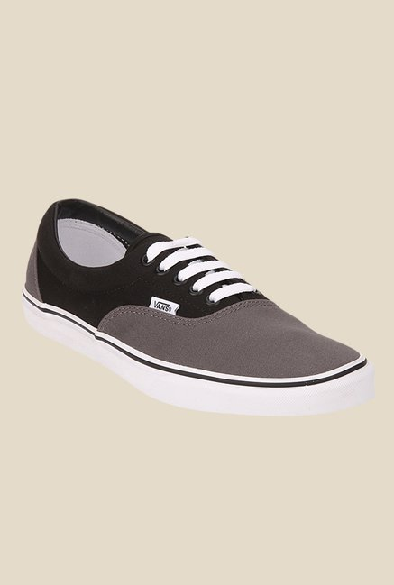 Vans Era Grey & Black Sneakers