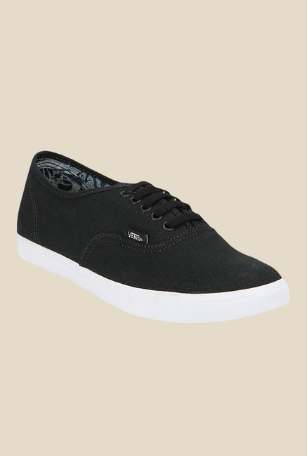 Vans Authentic Lo Pro Black Sneakers