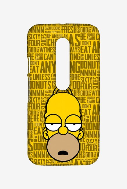 Simpsons Homer Says Case for Moto G3