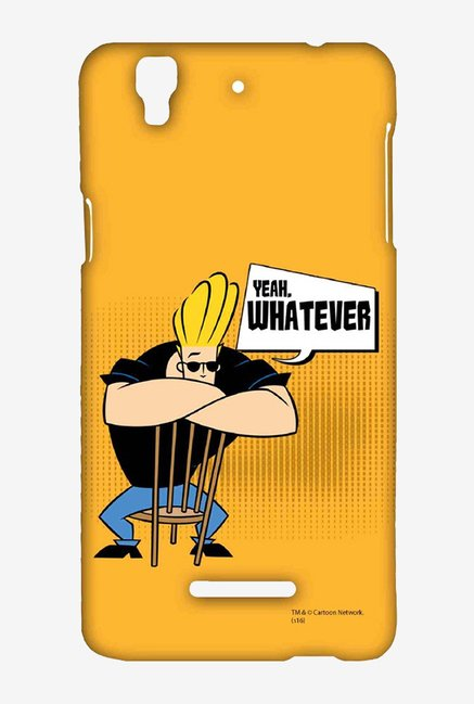 Johnny Bravo Yeah Whatever Case for Yu Yureka Plus