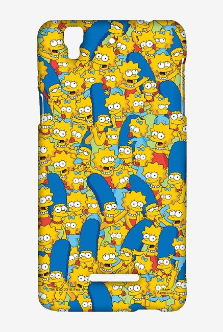Simpsons Pattern Case for Yu Yureka Plus
