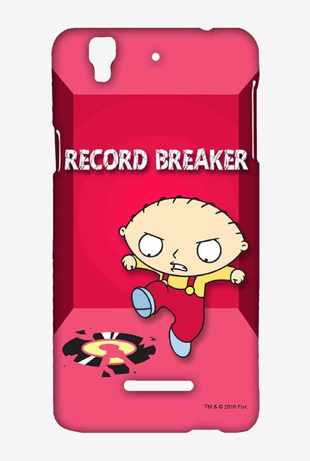 Family Guy Record Breaker Case for Yu Yureka Plus