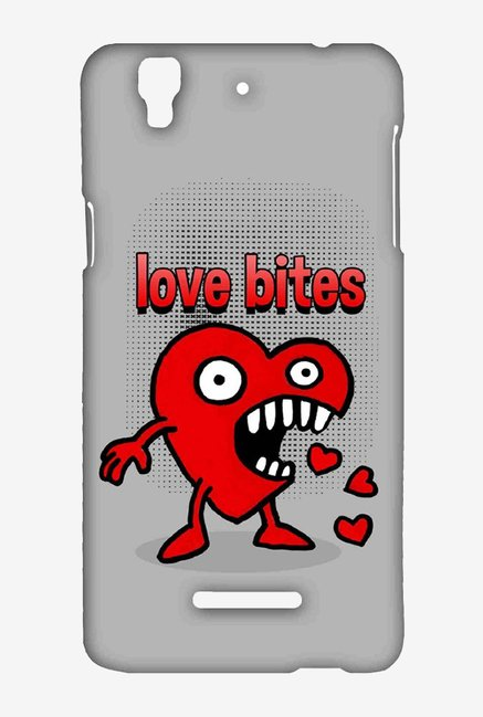 Kritzels Love Bites Case for Yu Yureka Plus