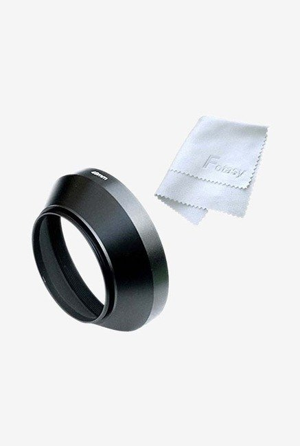 Fotasy LW37 Metal Lens Hood For Cameras (Black)