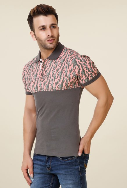 Spunk Grey Hunter Polo T-shirt