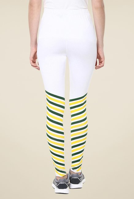 Yepme White Iggy Leggings
