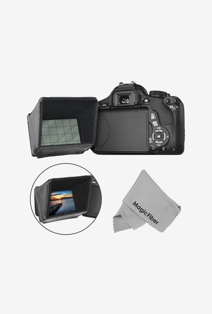 Goja LCD Screen Sun Shield For DSLR Cameras And Camcorders