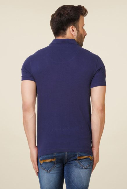 Spunk Navy City Polo T-shirt