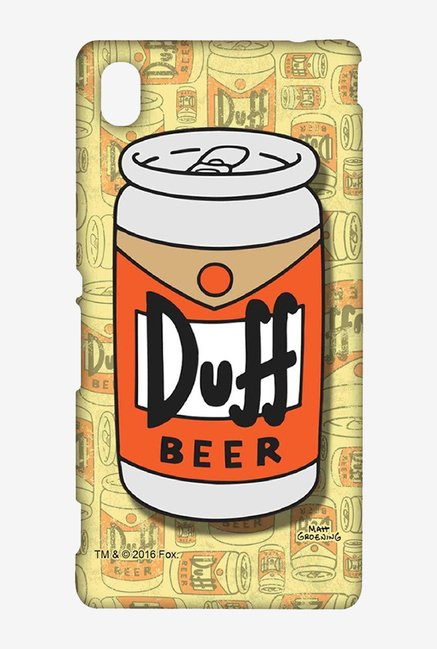 Simpsons Duff Beer Case for Sony Xperia M4