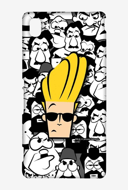 Johnny Bravo Doodle Case for Sony Xperia M4