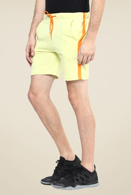 Yepme Yellow Ritter Shorts