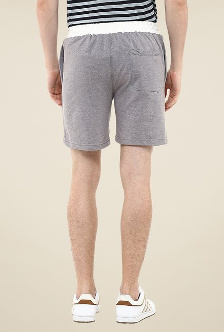 Yepme Grey Whiley Shorts