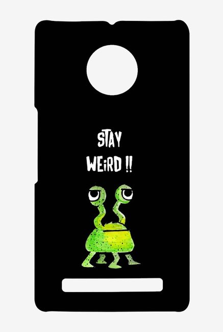 Kritzels Stay Weird Black Case for Yu Yuphoria