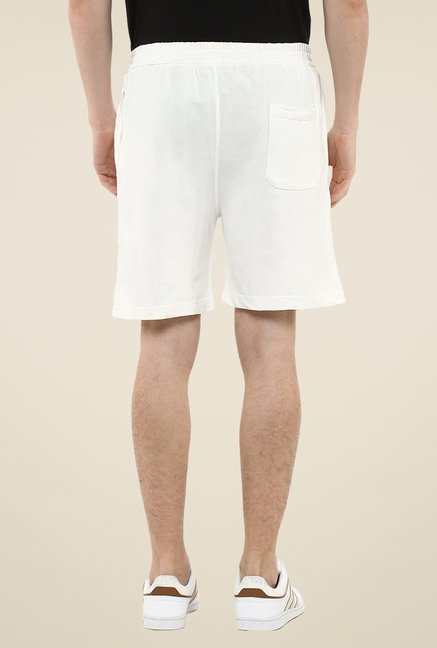 Yepme White Whiley Shorts