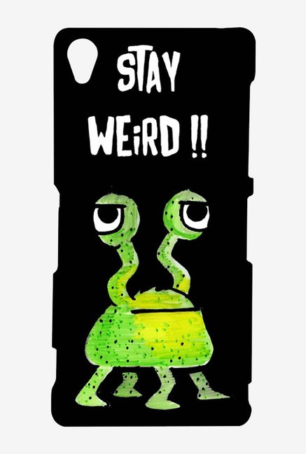 Kritzels Stay Weird Black Case for Sony Xperia Z3