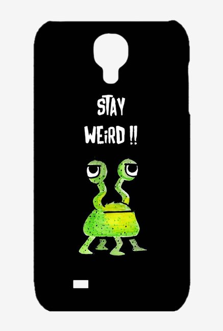 Kritzels Stay Weird Black Case for Samsung S4