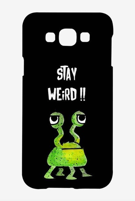 Kritzels Stay Weird Black Case for Samsung Galaxy A8