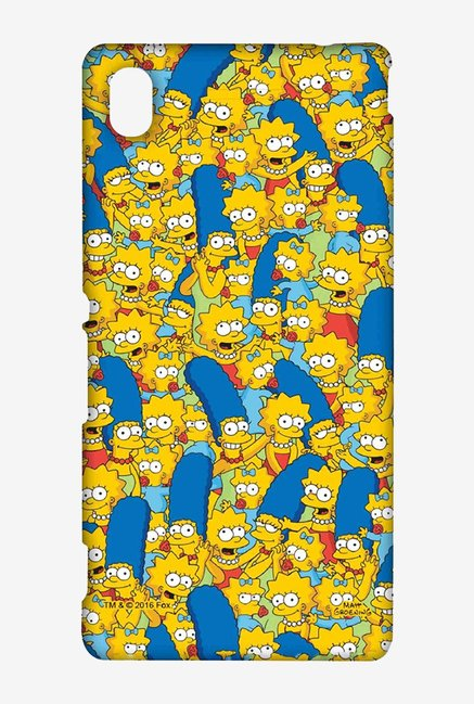 Simpsons Pattern Case for Sony Xperia M4