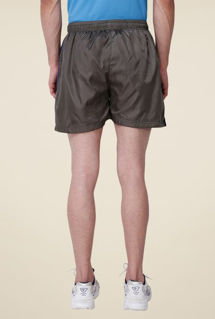 Yepme Olive Stevie Sports Shorts