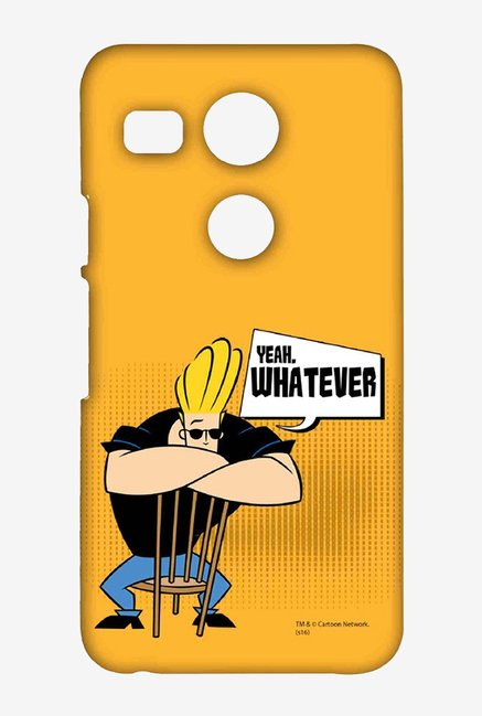 Johnny Bravo Yeah Whatever Case for LG Nexus 5X