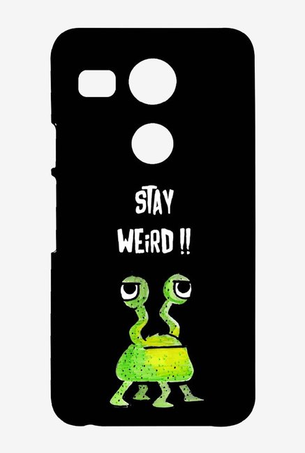 Kritzels Stay Weird Black Case for LG Nexus 5X
