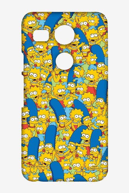 Simpsons Pattern Case for LG Nexus 5X
