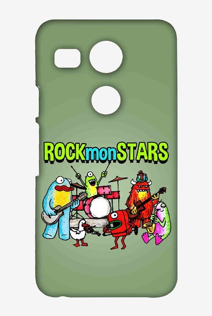 Kritzels Rockmonstars Case for LG Nexus 5X