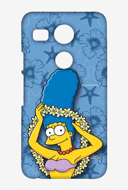 Simpsons Marge Hawaii Case for LG Nexus 5X